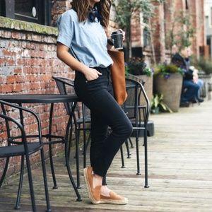 MADEWELL High Riser Skinny Jeans Lunar {T51}